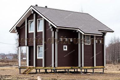 Дом из Двойного Бруса в Татаринцево